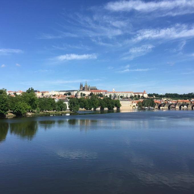 View at the Prague Castle