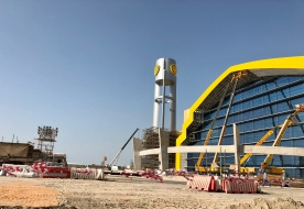 Warner World Theme Park Abu Dhabi Construction Photos Travellerczech