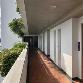 Corridor on the top floor