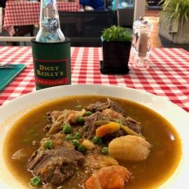 Irish stew was just perfection