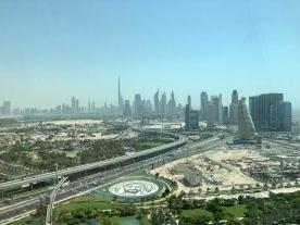 View at new Dubai
