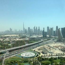 View at new Dubai